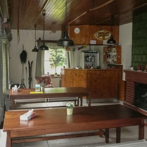 Chata Sněžná - společné místnosti
